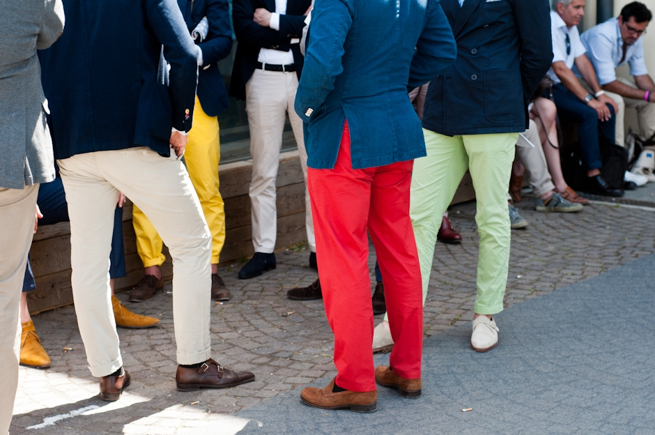 Kolor Spodni A Kolor Butow Niestandardowe Polaczenia For Gentleman